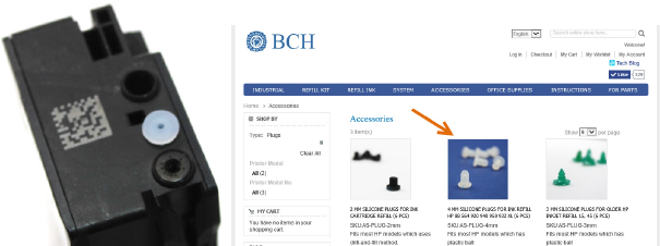 bch ink refill instructions